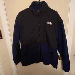 Navy North Face soft shell